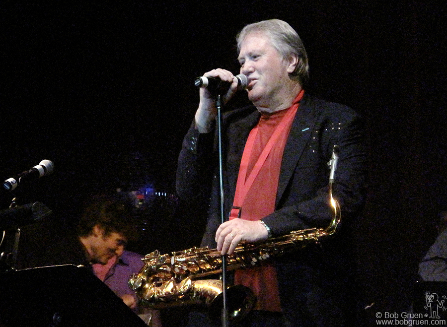 July 28 - NYC - Bobby Keys was honored by his many musical friends in a tribute night to him at the Highline Ballroom.