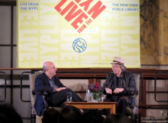 Oct 29 - Anthony DeCurtis interviewed Keith Richards at the New York Public Library Main branch in a very formal room to have a very informal conversation about Keith's life and the release of Keith's book 'Life'. Keith was great and I'm very happy he chose to include a photo of mine in his book.