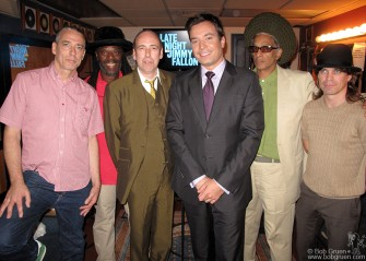 August 2 - Big Audio Dynamite played at Jimmy Fallon's Late Nite TV show.