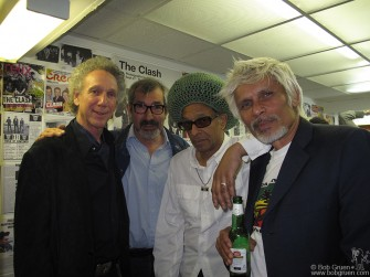 At the Subway Gallery opening I welcomed my friends John Tiberi (known as 'Boogie' he was the Sex Pistols road manager) and Don Letts with his brother Desmond.