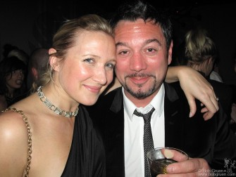 Another good friend living in London is Huey Morgan (above with his wife at Bungalow 8), leader of the 'Fun Lovin' Criminals' and now a very popular DJ on the BBC.