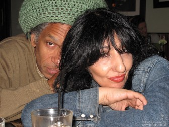 September 22 - London - Whenever I'm in London I catch up with good friends Don Letts and Patti Palladin, always great fun!