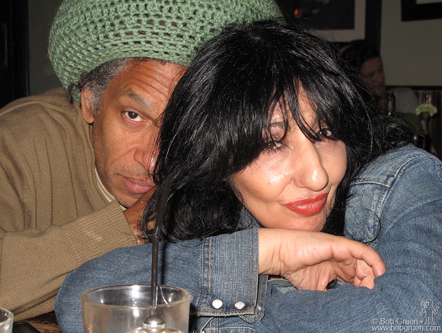 Sept 22 - London - Whenever I'm in London I catch up with good friends Don Letts and Patti Palladin, always great fun!