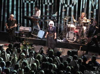 Blondie played in Dublin on a night when Green Day was off so we got to see their great show.
