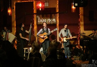 My son Kris Gruen played at the Living Room in New York.