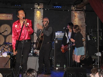 June 30 - At Alejandro Escovedo's City Winery show producer Tony Visconti joined the band for a few songs.