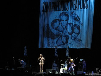 Semi Precious Weapons opened for Lady GaGa at Madison Square Garden.