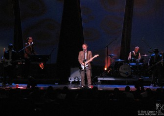July 13 - Squeeze, on tour with Cheap Trick, were great at Radio City Music Hall.