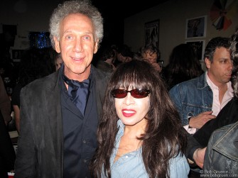 The biggest thrill for me was when Ronnie Spector stopped in to say Happy Birthday!