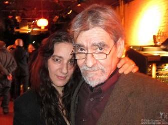 Sharon Blythe and Giorgio Gomelsky celebrated their mutual birthdays at Giorgio's loft.