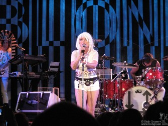 Blondie's latest world tour stopped at the Nokia Theatre in Times Square with their timeless hit songs.
