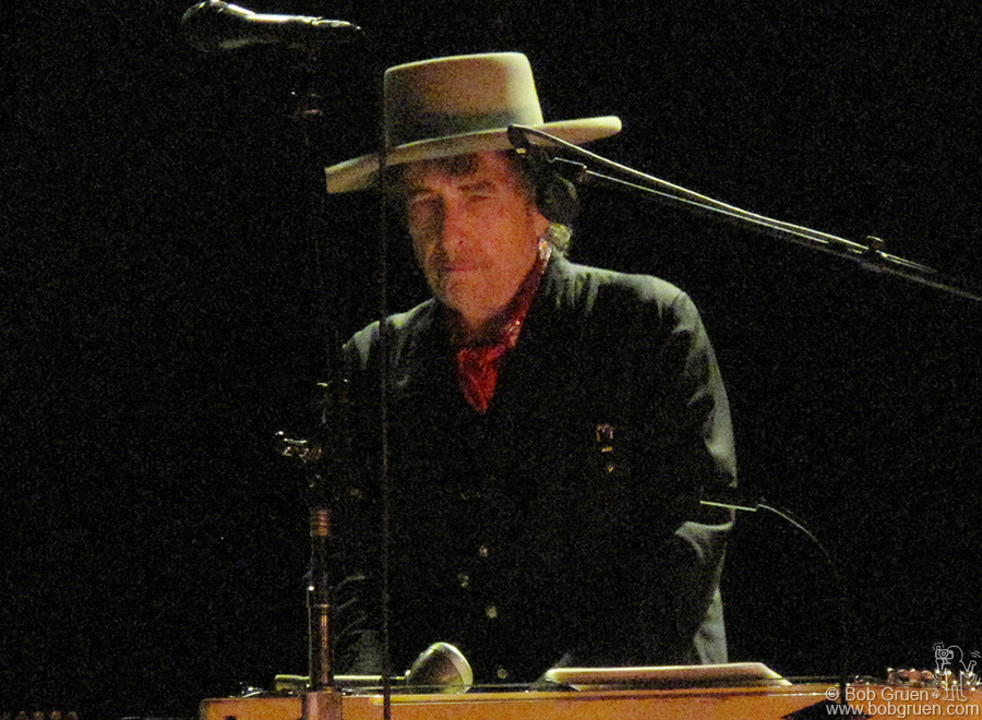 Nov 17 - NYC - Bob Dylan brought his band and brilliance to the United Palace theater. He played many of his songs with new arrangements but I was just happy to be in the presence of the master.