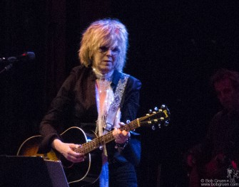 Lucinda Williams brought her rockin' country sounds to New York for two shows at Webster Hall.