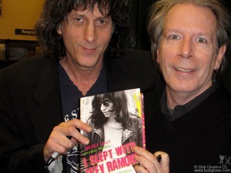 December 1 - Joey Ramone's brother Mickey Leigh and co-author Legs McNeil read from their new book 'I slept with Joey Ramone'.