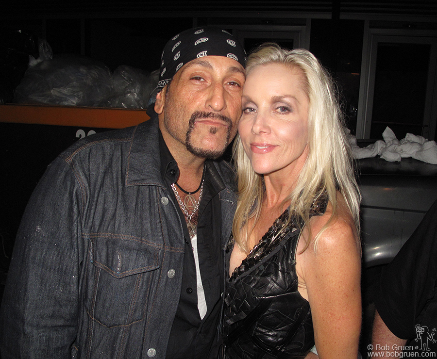 Handsome Dick Manitoba and Cherie Currie also appeared at the Varvatos party on the Bowery.