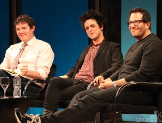 Back in New York in January, I went to the New York Times talk with Billie Joe Armstrong and American Idiot broadway show director Michael Mayer, led by New York Times theater editor Patrick Healy.