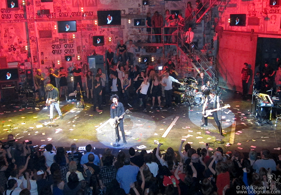 April 24 - NYC - Green Day played at the final show of American Idiot on Broadway.