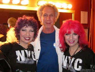 May 20 - I got in a photo with the Sic Fu*ks at the annual Joey Ramone Birthday benefit for Leukemia.