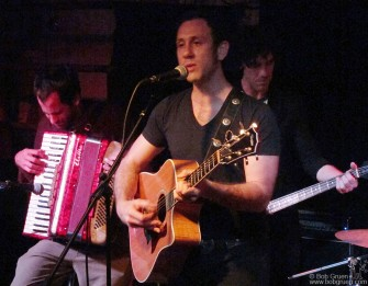 June 18 - My son Kris Gruen showed off his songs with a band at Bowery Electric.