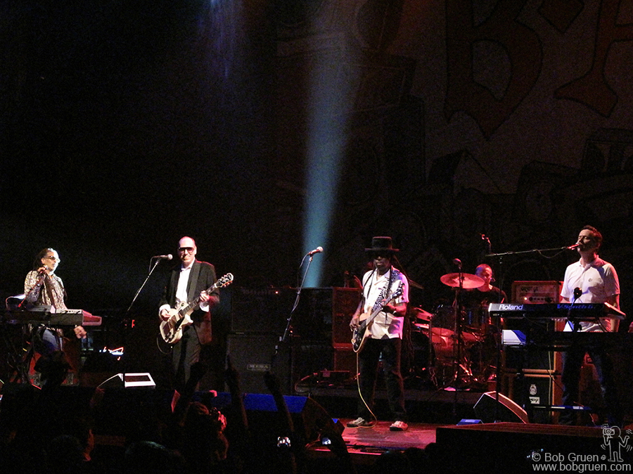 April 19 - NYC - Big Audio Dynamite reunion show at Roseland was a smashing success!