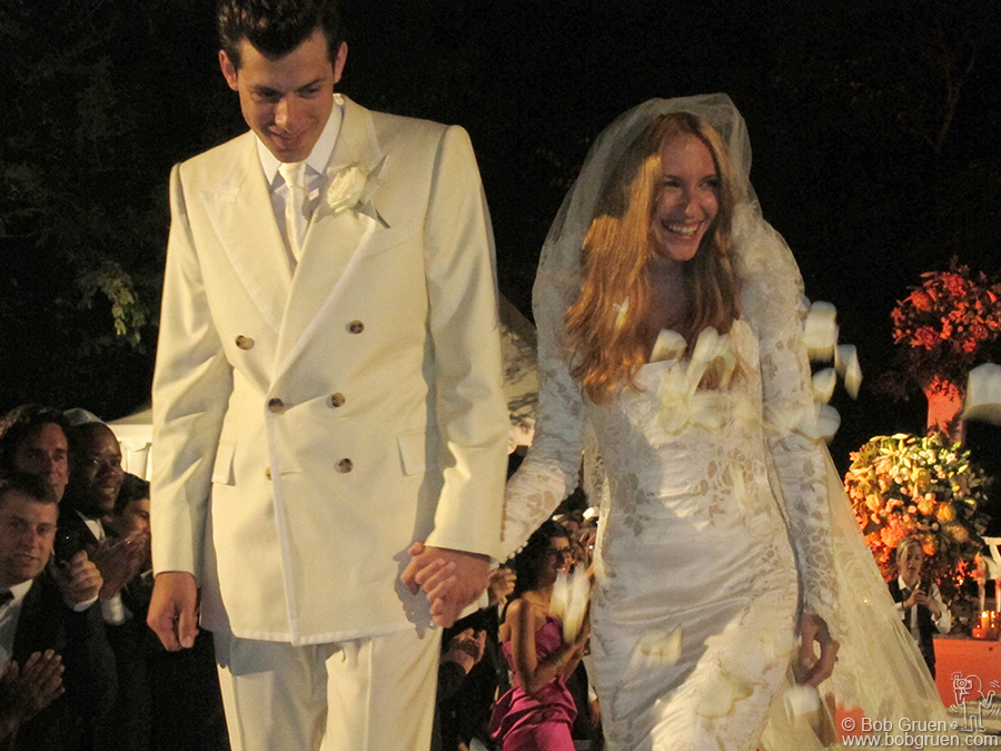Sept 3 - Aix-en-Provence, France - Mark Ronson married Josephine De La Baume in a beautiful ceremony in the south of France.