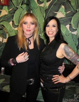 "September 12 - Bebe Buell asked ex Cycle Slut from Hell, Raf to read from her upcoming memoir as the opening act at the Hiro Ballroom showcase for Bebe's new CD ""Hard Love""."