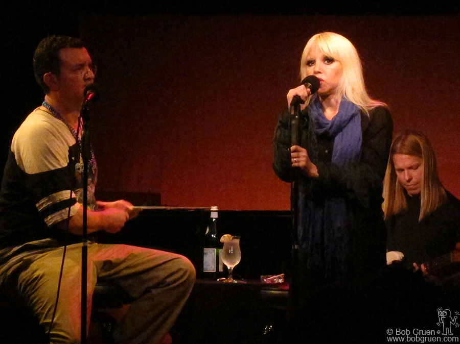 Oct 22 - NYC - Tammy Faye Starlite channels Nico in her new show playing at the Duplex in New York, and she does it very well.