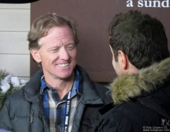 Seen on the street...Robert Redford at the 2012 Sundance Film Festival in Park City, UT