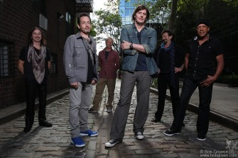 June 8 - I also had a photo session in my West Village neighborhood with Ernie and the Automatics, a new band from Boston.