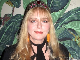 "Jan 13 - Bebe Buell played songs from her new album ""Air Kisses for The Masses"" at the Hiro Ballroom and she looked and sounded great!"