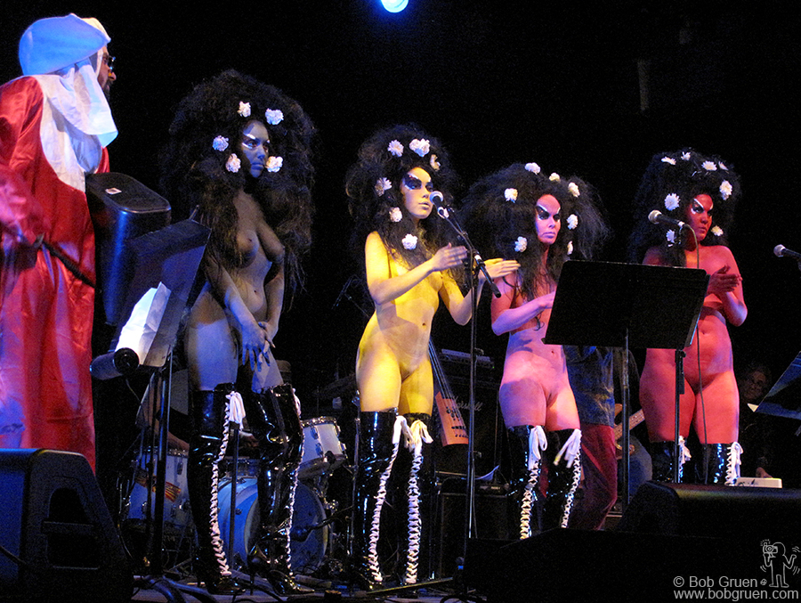 The Voluptuous Horror of Karen Black was one of the many eclectic acts to play at the benefit for Tuli.