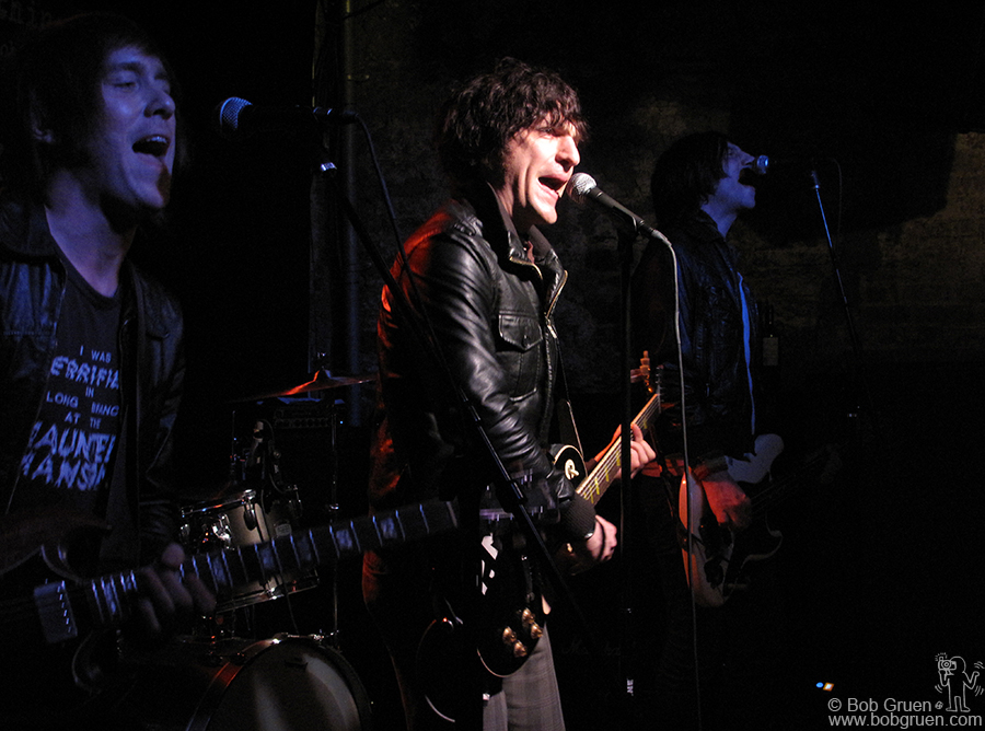March 11 - NYC - Jesse Malin and his 'St. Marks Social' band played a series of shows at his club, the Bowery Electric, to introduce his new CD 'Love it to Life'.