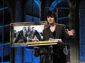 "Green Day's Billie Joe inducted Iggy Pop & the Stooges into the Rock & Roll Hall of Fame. He quoted Scott Asheton from Legs McNeil's book ""Please Kill Me"" and told of a very long list of bands that have been inspired by the Stooges."