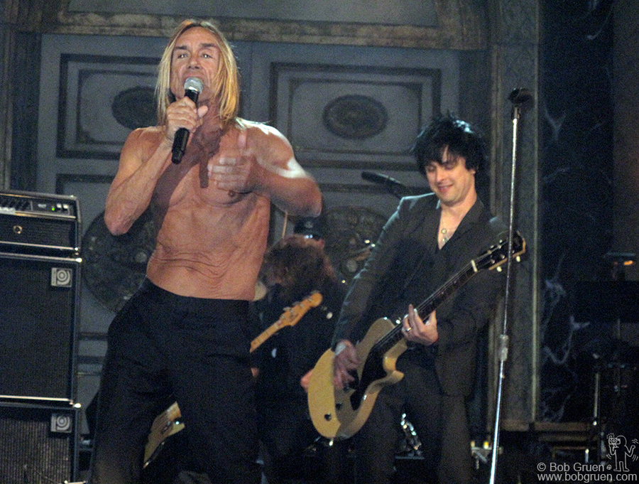 Billie Joe played guitar with Iggy and the Stooges.