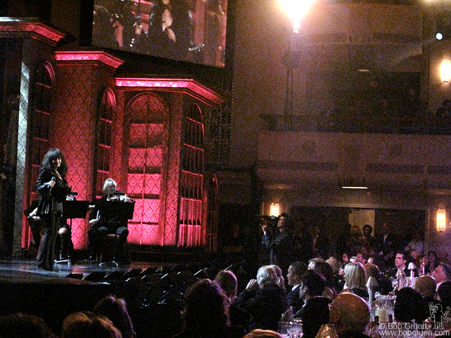 Ronnie Spector sang 'Be My Baby' written by inductees Jeff Barry and Ellie Greenwich.