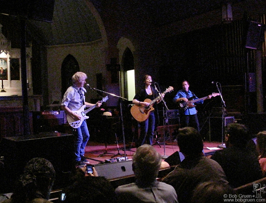 March 17 - Austin, TX - Suzanne Vega played a beautiful show at St Andrews Church.