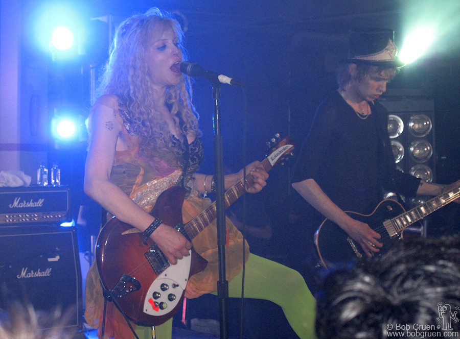 March 21 - Austin, TX - I finished my visit to Austin by catching wild woman Courtney Love rocking out at 3am!
