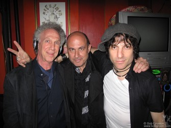 "April 14 - John Varvatos & I were the guest DJ's at the party Jesse Malin had for his new CD ""Love It To Life"" at Black & White on 10th Street."