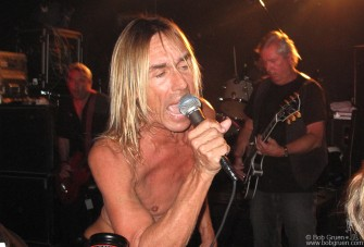 Sept 10 - Iggy Pop played a surprise show at Don Hill's club, a very rare opportunity to see the Stooges in a very intimate setting!