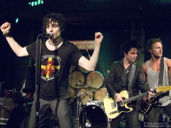 Jesse Malin played a rocking set at New York's City Winery and Billie Joe Armstrong, and Charlie Mars joined in for a five song encore.