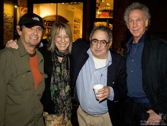 October 22 - I got to hang out with the legendary rock photographer Jim Marshall at his opening at the Morrison Hotel Gallery on Prince street and he introduced me to his friends Bobby Neuwirth and Suze Rotolo.