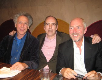 Sept. 25 - In Paris I had a chance to have lunch and catch up with Mick Jones and Tony James who were there promoting their new Carbon Silicon CD.