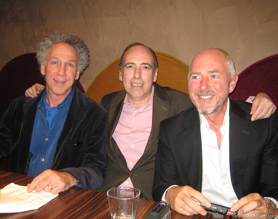 Sept 25 - Paris - In Paris I had a chance to have lunch and catch up with Mick Jones and Tony James who were there promoting their new Carbon Silicon CD.