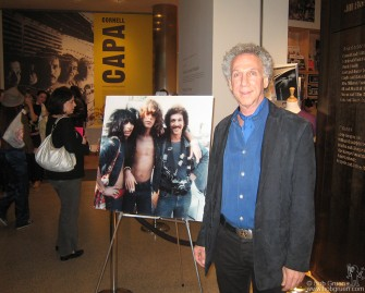 Oct. 3 - There was a signing event for my New York Dolls book at the International Center for Photography in New York. We drew the largest crowd they've ever had and sold out all the books available!