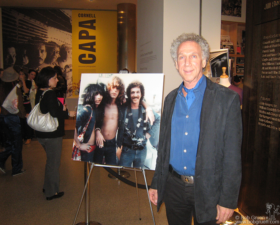 Oct 3 - NYC - There was a signing event for my New York Dolls book at the International Center for Photography in New York. We drew the largest crowd they've ever had and sold out all the books available!