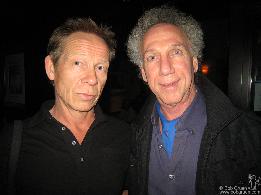 Oct 8 - Los Angeles - I also got to meet another Sex Pistol in Los Angeles when I went to dinner with drummer Paul Cook.