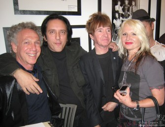 It was fun to catch up with old friends Howie Pyro, Rodney Bingenheimer and Hellen Killer at the LA opening.