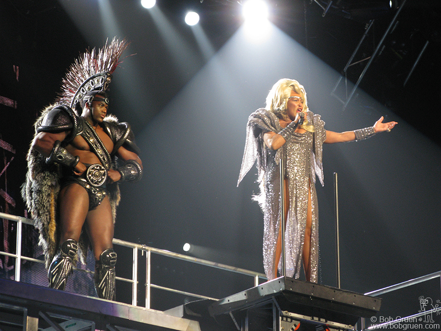 Oct 13 - Los Angeles - While in Los Angeles I saw Tina Turner at the Staples Center. She sang 'We don't need another hero', and as long as we have Tina who needs another hero?