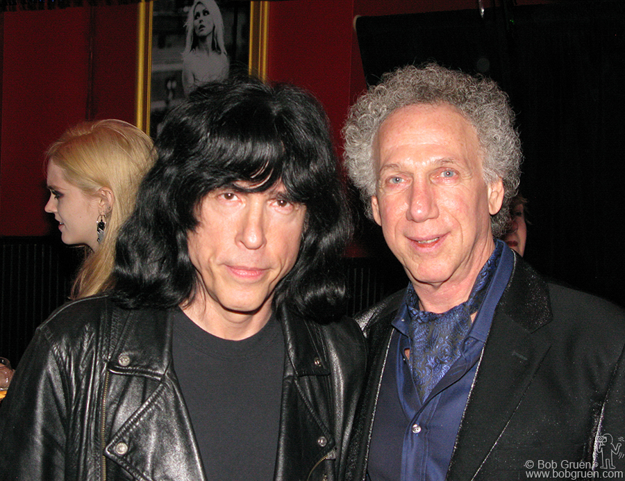Marky Ramone came by with birthday wishes.