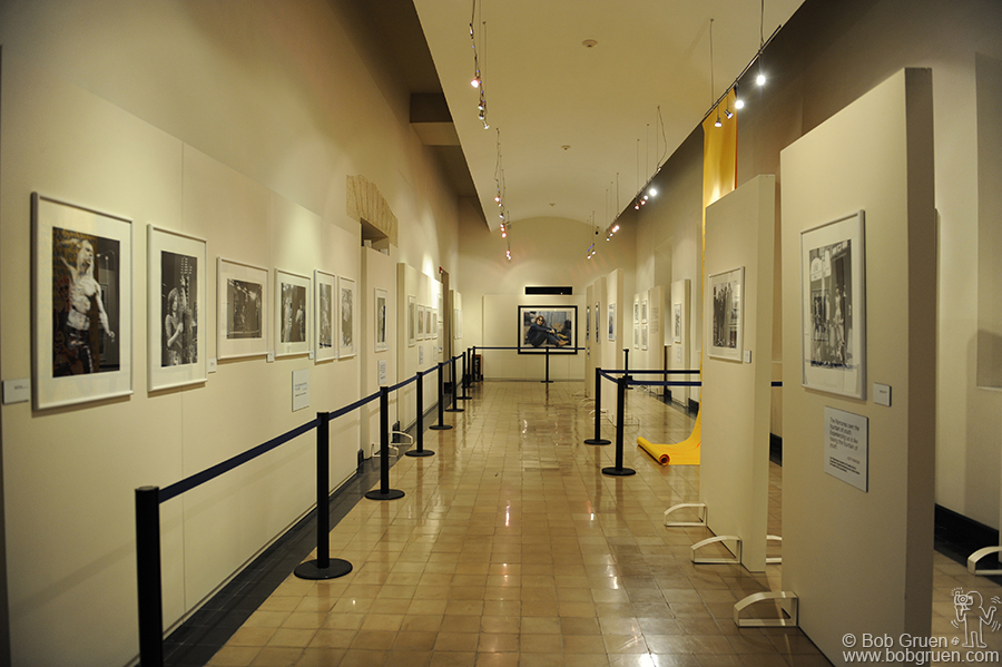 The presentation of my photos was very elegant. People waited up to an hour to get into the exhibit.